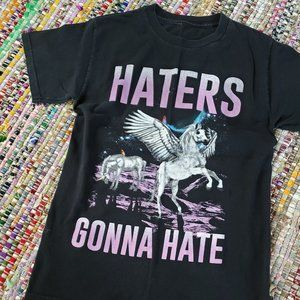 Other - Unicorn Pegasus Haters Gonna Hate Shirt - Small